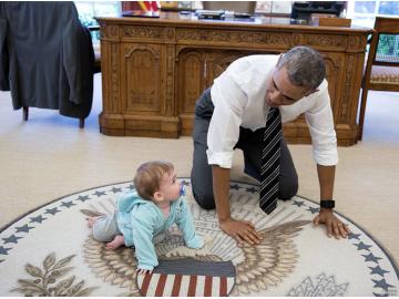 白宫公布奥巴马任内最后一年最佳图片
