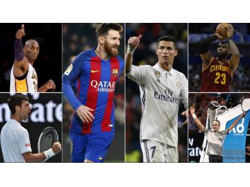 《福布斯》杂志公布2016年收入最高运动员排行榜