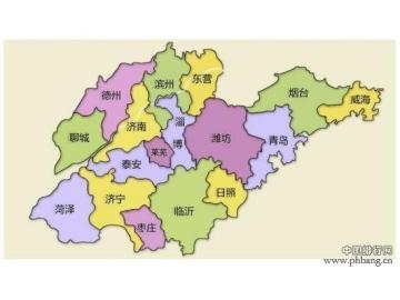 山东省人口最多的四个市,第一人口超1千万!