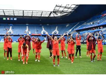 女足最新世界排名:中国排世界第16位