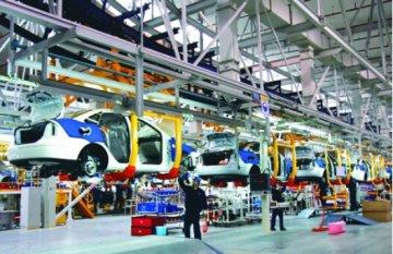 2015年全球五大汽车制造商汽车总产量排名