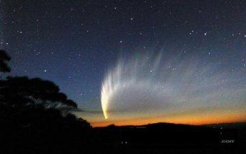 盘点历史上十大最著名的彗星