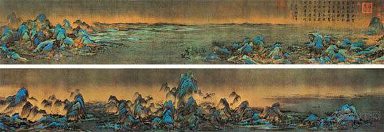 中国山水画十大画家_中国十大传世名画欣赏_中国排行网