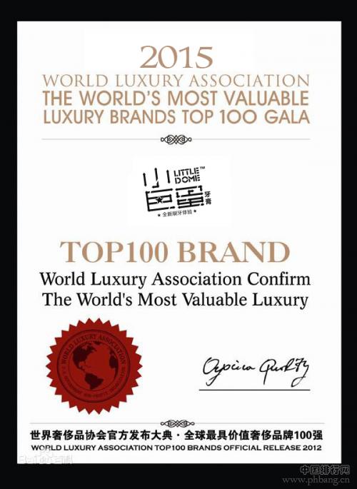 小巨蛋牙膏入选世界奢侈品排行榜