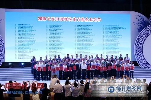 中国餐饮百强排行榜