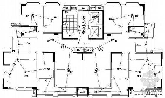 图纸及房屋装修设计平面步骤. 房屋水电安装设计图及房屋装