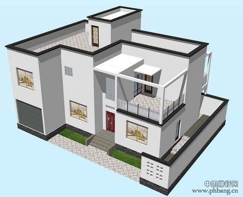 房屋平房和农村两层楼房效果图   [摘要]农村房屋设计效果图其