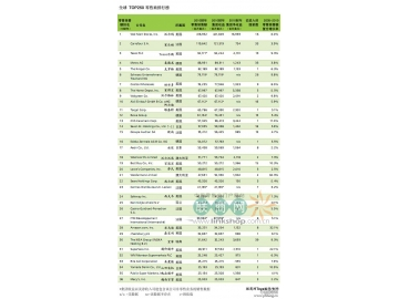 2012全球零售力量之TOP250强零售商排行