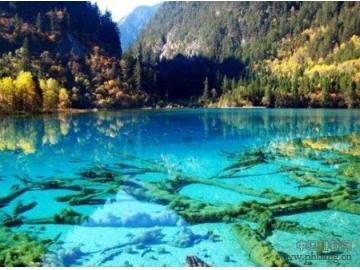 中国十大最美生态水域之:九寨沟