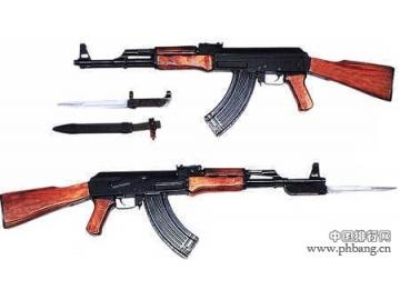 世界最致命5大名枪排行榜