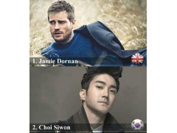 2014年全球最美脸蛋男星排行榜