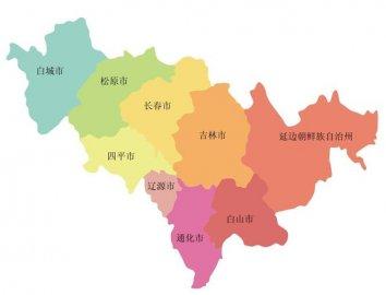 2018吉林省各地市人口数量排行榜