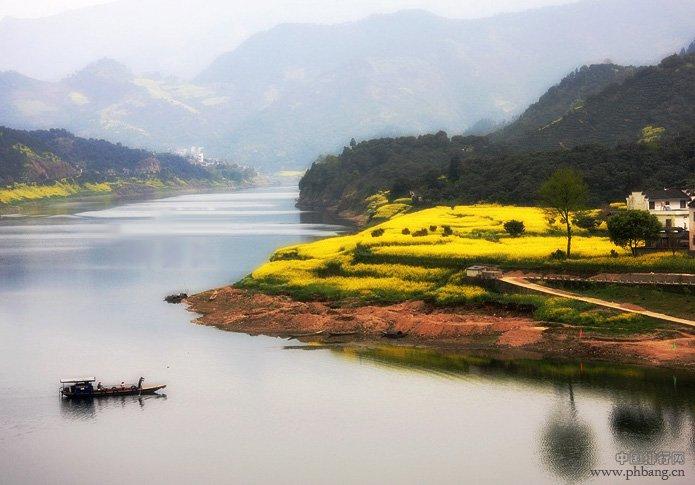 中国十大最美生态水域之:新安江