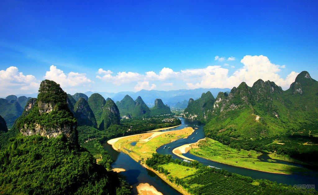 中国十大最美生态水域:漓江