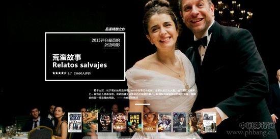 豆瓣2015年度得分最高的最佳电影排行榜