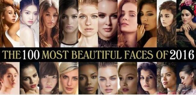 2016全球最美面孔排行