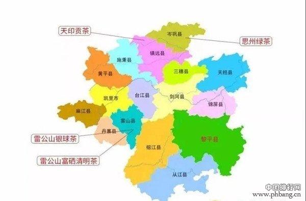 黔东南州各县人口排行榜:凯里市最多,最少的是这个县