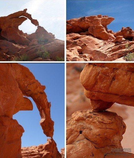 十大倒塌天然奇岩:酷似上帝手指