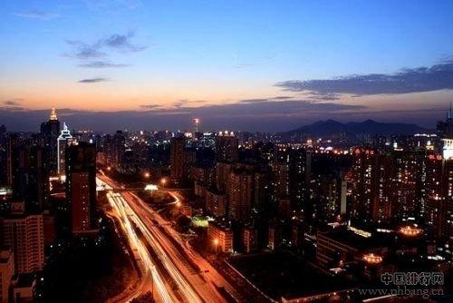 盘点中国十大城市安全月薪工资(图)